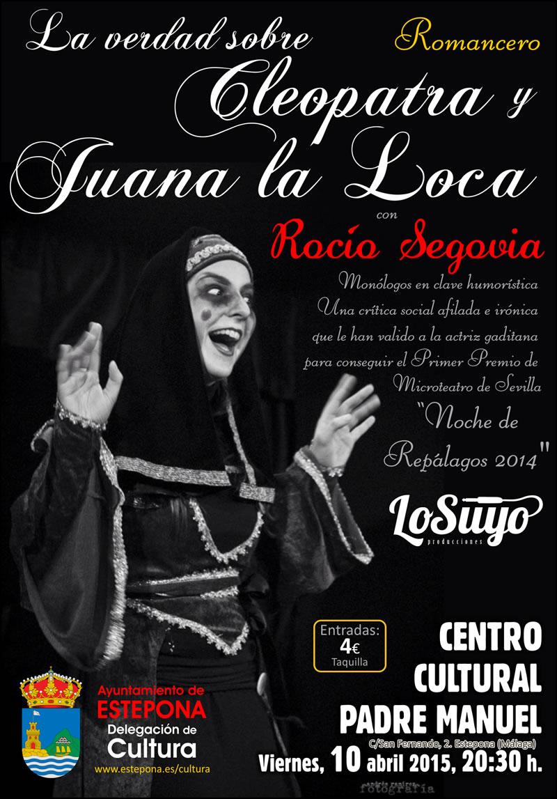 La joven actriz gaditana Rocío Segovia presenta en ...